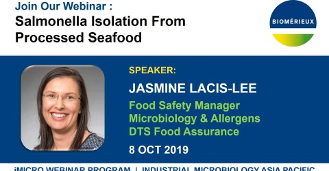 IMG WEBINAR Salmonella Isolation from processed food - Jasmine LACIS-LEE
