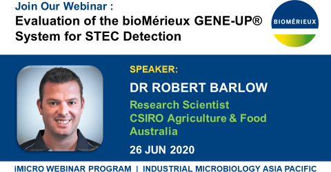 Evaluation of the bioMérieux GENE-UP® System for STEC Detection - Robert BARLOW