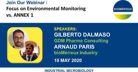 Focus on Environmental Monitoring vs. ANNEX 1 - DALMASO PARIS