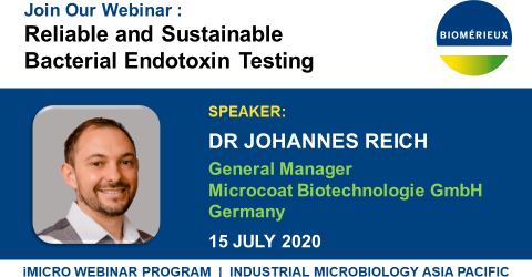 Reliable and Sustainable Bacterial Endotoxin Testing IMAGE WEBINAR